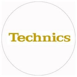 Technics Gold Foil Slipmat (x2)