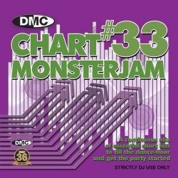 DMC CHART MONSTERJAM 33